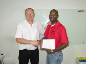 Mapex - CIH Sugarcane Harvester Training 2012