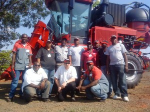 Mapex Team participates in special training on Case IH A8800 sugarcane harvesters in Brazil